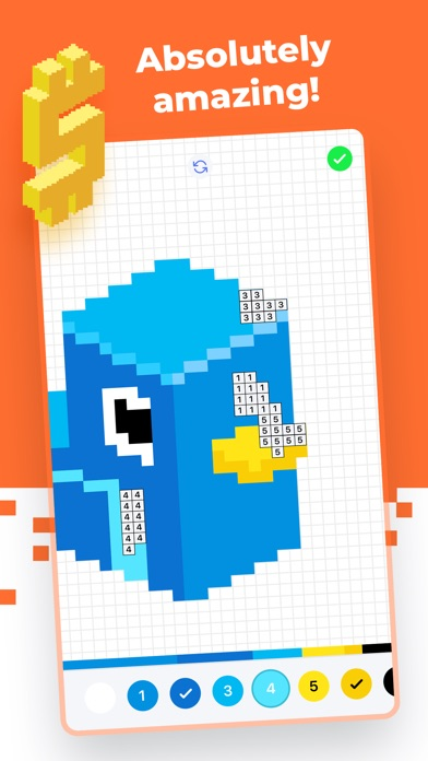 Super Pixel - Color by Number screenshot 4