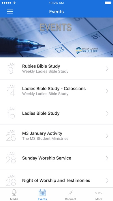 Sussex County Bible Church screenshot 2