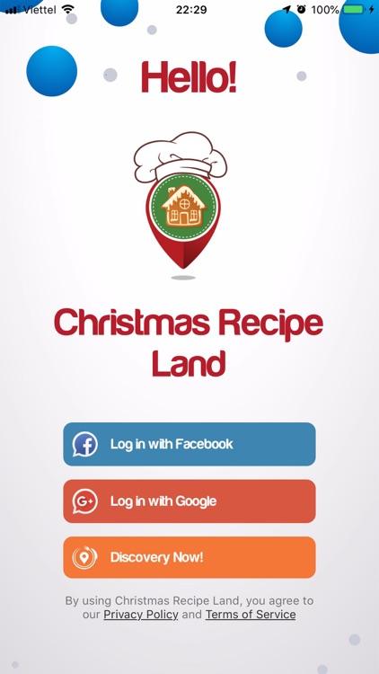 Christmas Recipe Land