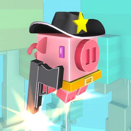 Piggy Cowboy