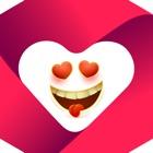 Hearts Emoji Funny Texting App icon
