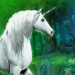 Magical Unicorn Race in the Forest of Fairies - Free Edition