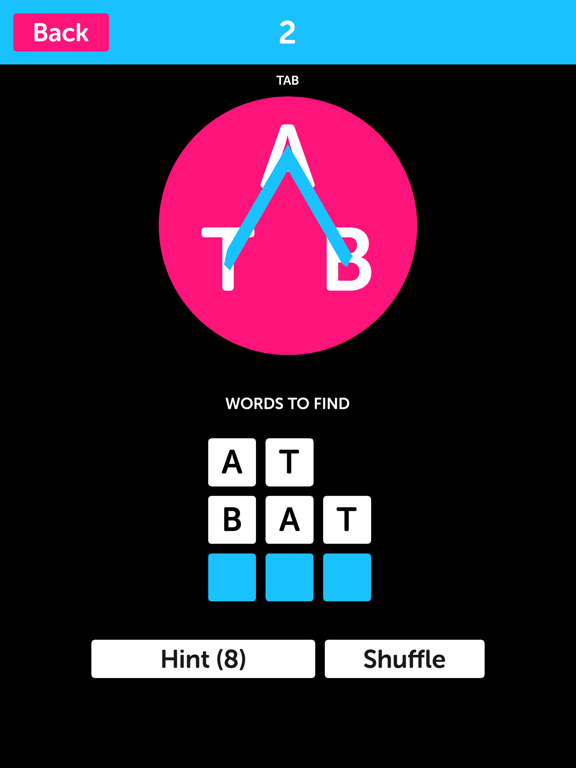 Pink Letters - Word Search Puzzle Game screenshot 5