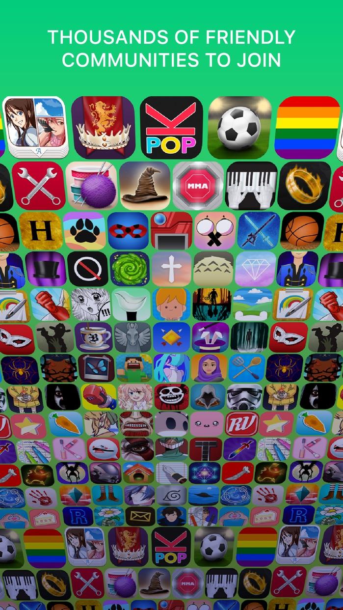 Amino: Communities and Groups Screenshot