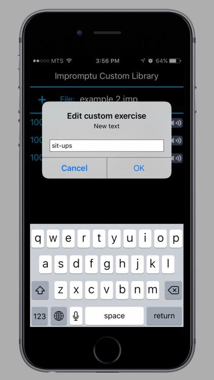 Impromptu Fitness screenshot-4