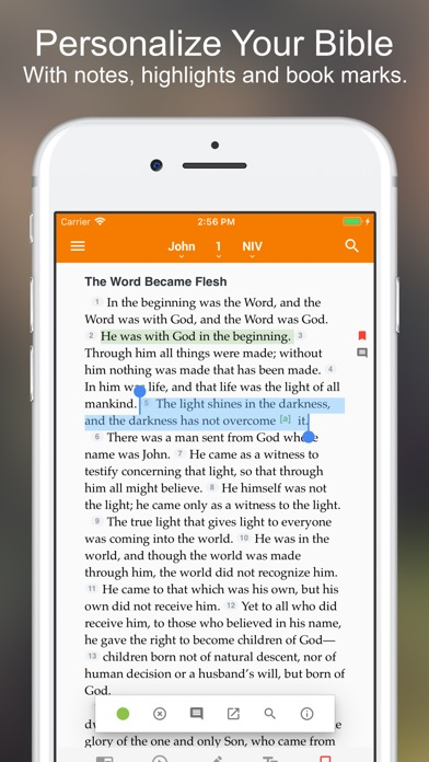 Holman Bible review screenshots