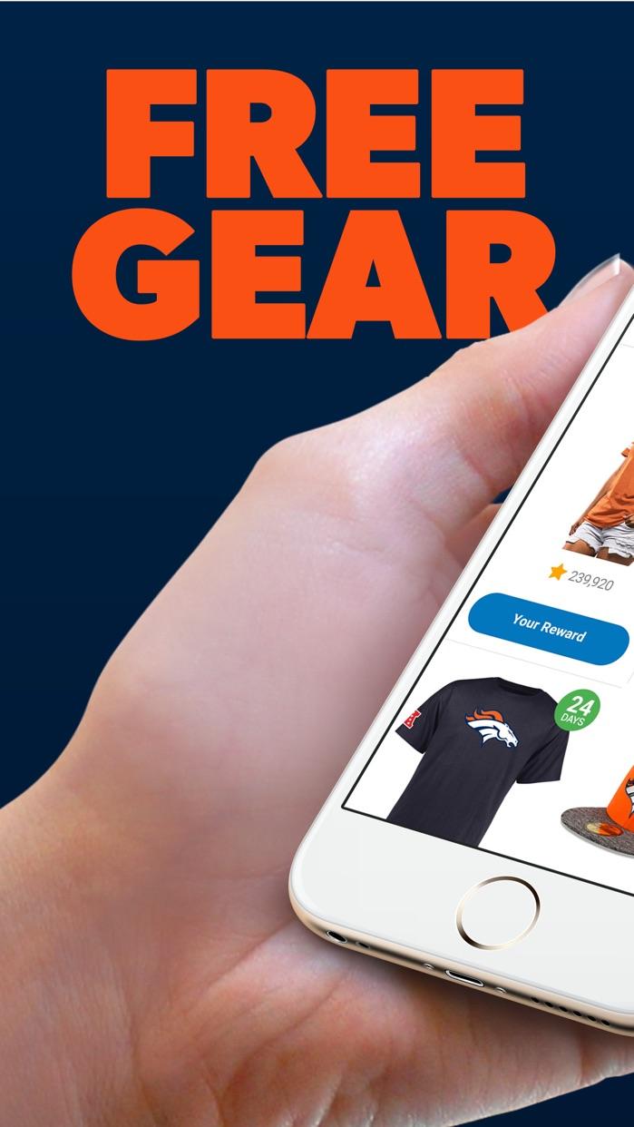 Denver Football Rewards Screenshot