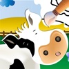 ファームの動物: 学んで色付け - iPhoneアプリ