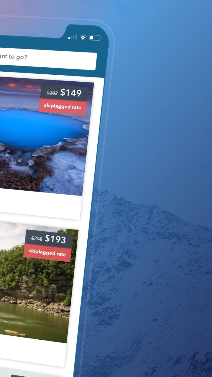 Skiplagged — Flights & Hotels Screenshot