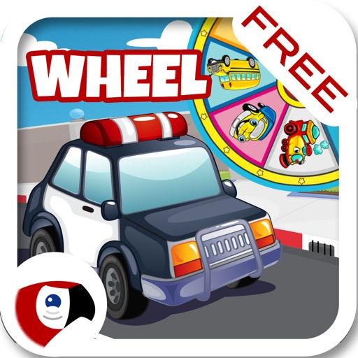 TalKing Motors Wheel: Preschool and Kindergarten Learning Puzzle Games with sound and interaction for Toddler kids Explorers - Macaw Moon iOS App