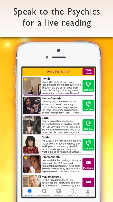 Psychics Live Horoscopes Tarot review screenshots