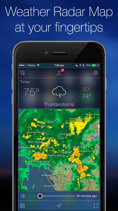 Screenshot #1 for Weather Radar Map Live