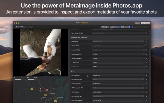MetaImage Screenshot