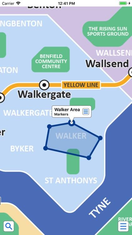 Tyne and Wear Metro by Zuti screenshot-3