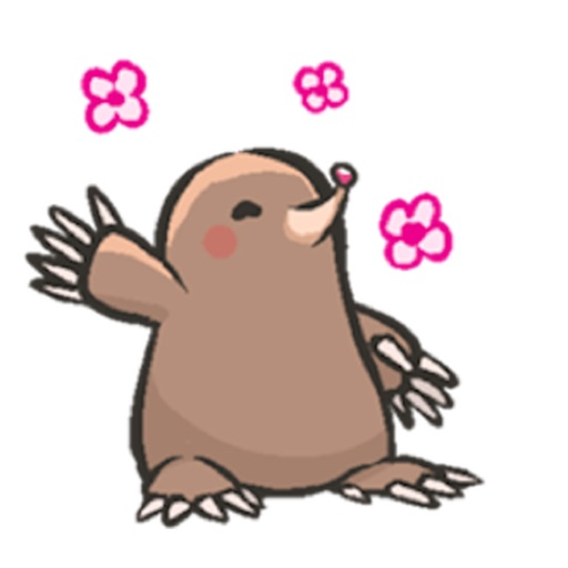Carefree Groundhog Sticker