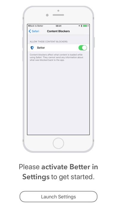 Screenshot for Better Blocker in Germany App Store