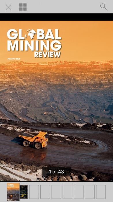 Global Mining Review Screenshot