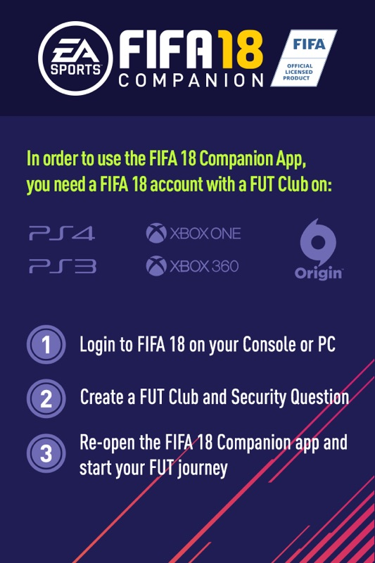 EA SPORTS™ FIFA 18 Companion - Online Game Hack and Cheat