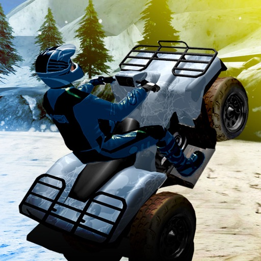Snow Bike Parking 3D Extreme Mountain Simulator