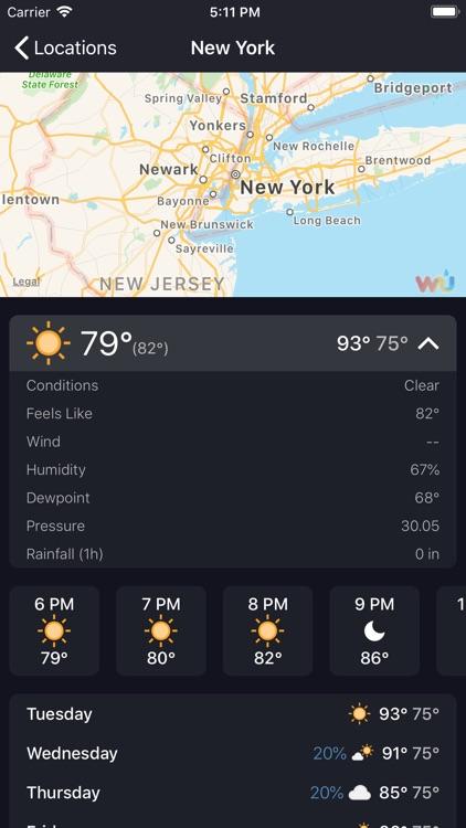 goWeather - World forecast