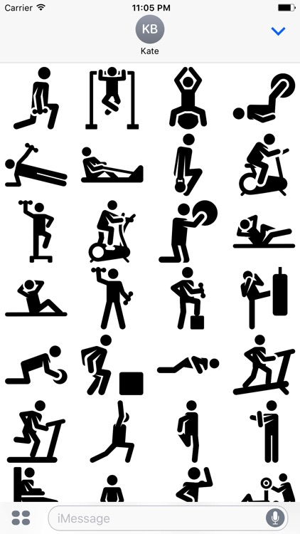 Exercise Stickers