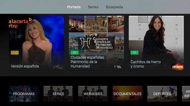 RTVE alacarta on the App Store