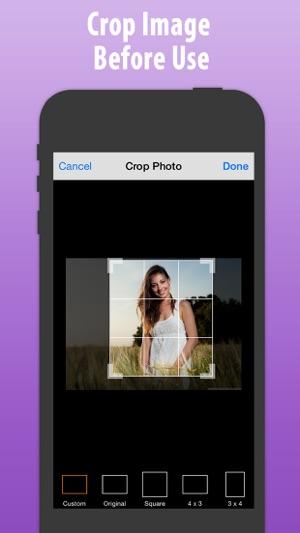 frilägga bilder app