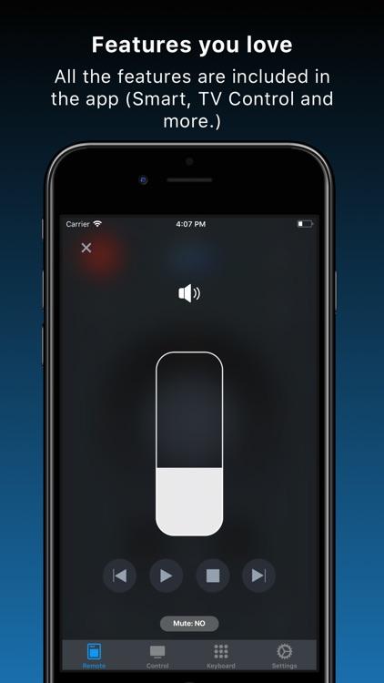 Remote TV Control for Samsung screenshot-3