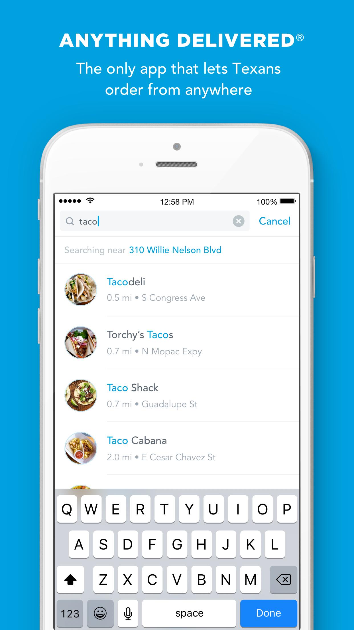 Favor - Food Delivery Screenshot