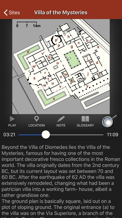 Pompeii Map - Travel Guide