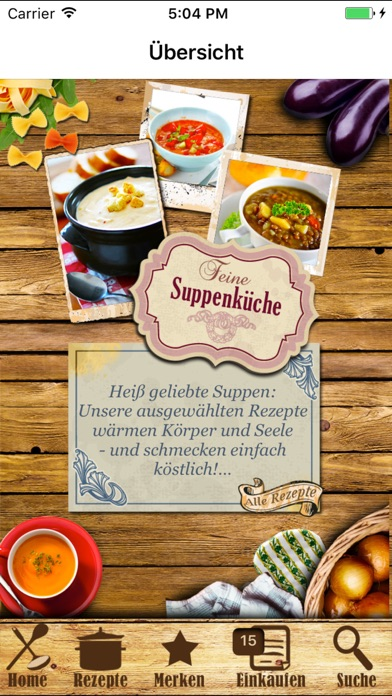 Screenshot for Suppenküche Suppen & Eintöpfe in Germany App Store