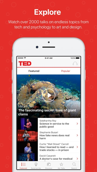 TED app image