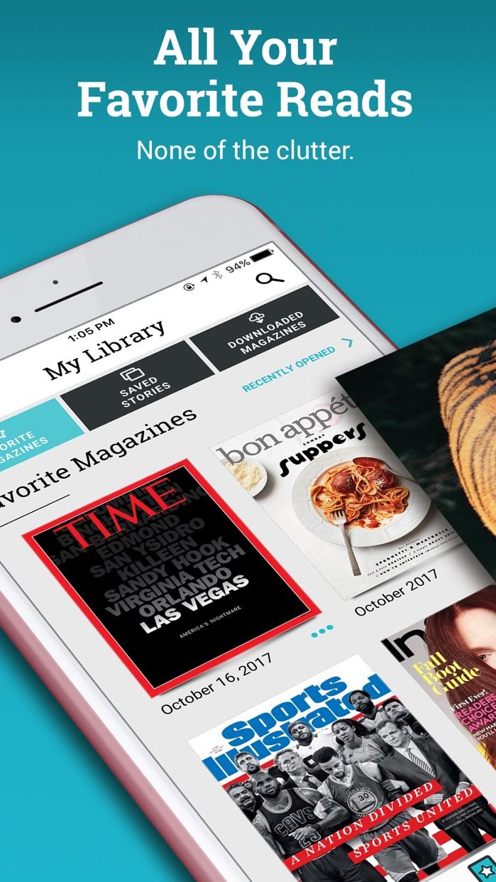 Texture – Unlimited Magazines Screenshot