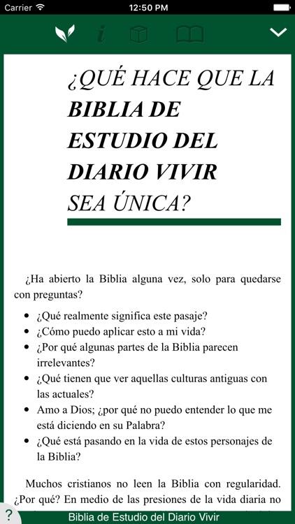 Biblia de Estudio del Diario Vivir