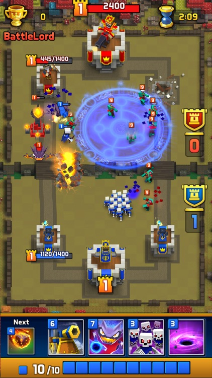 Great Royale Wars - Clash of Block screenshot-3