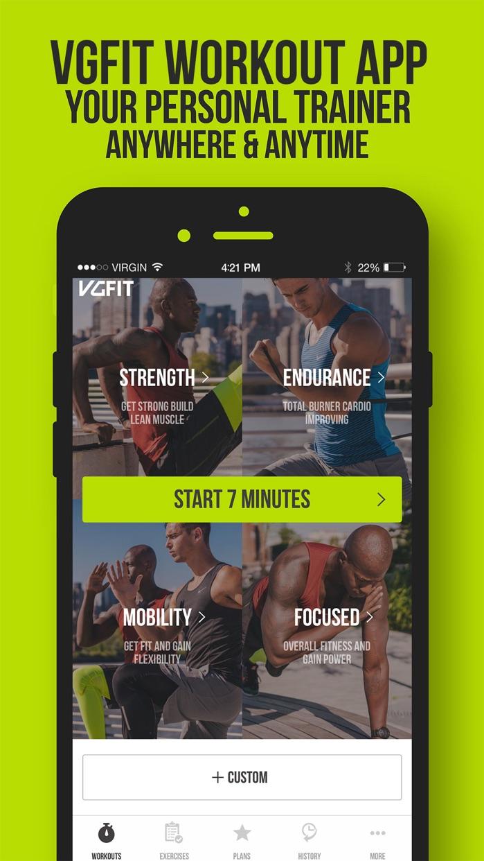 VGFIT Workout Screenshot
