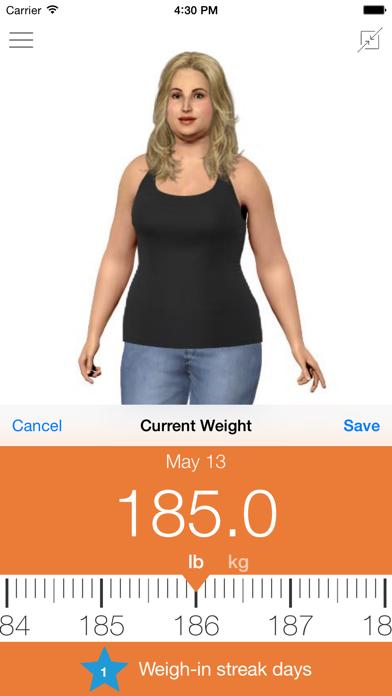 Model My Diet - Women screenshot 2