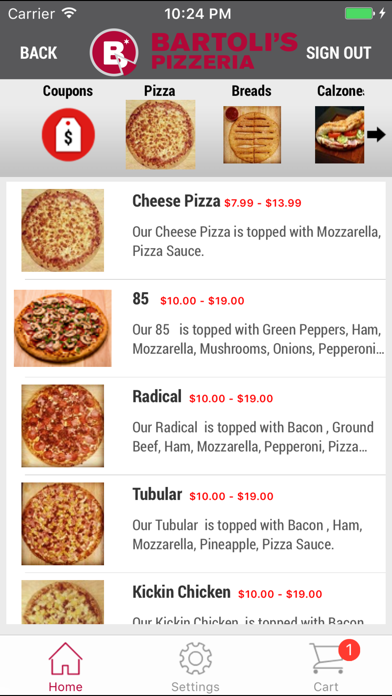 Bartoli's PizzeriaScreenshot of 3