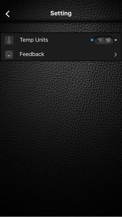 Thermometer&Temperature app screenshot-4