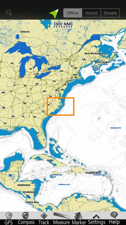 Carolina N GPS Nautical Charts screenshot-4