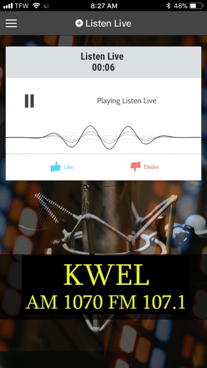 KWEL Radio screenshot-0