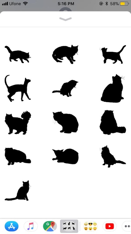 Black Cats Stickers screenshot-4