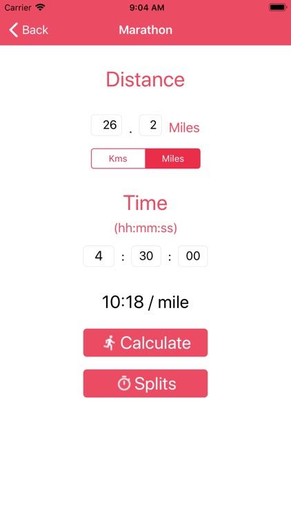 RaceCalc - Run Pace Calculator