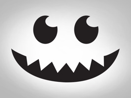 Welcome to Halloween this year with Halloween Facial simple emoji for iMessage are nice collection stickers in iPhone and iPad to Chat funny and emotion with friends