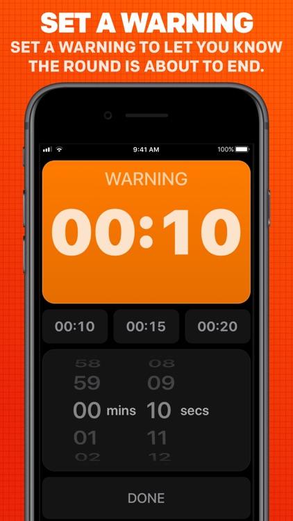 Boxing Timer Pro Round Timer screenshot-4