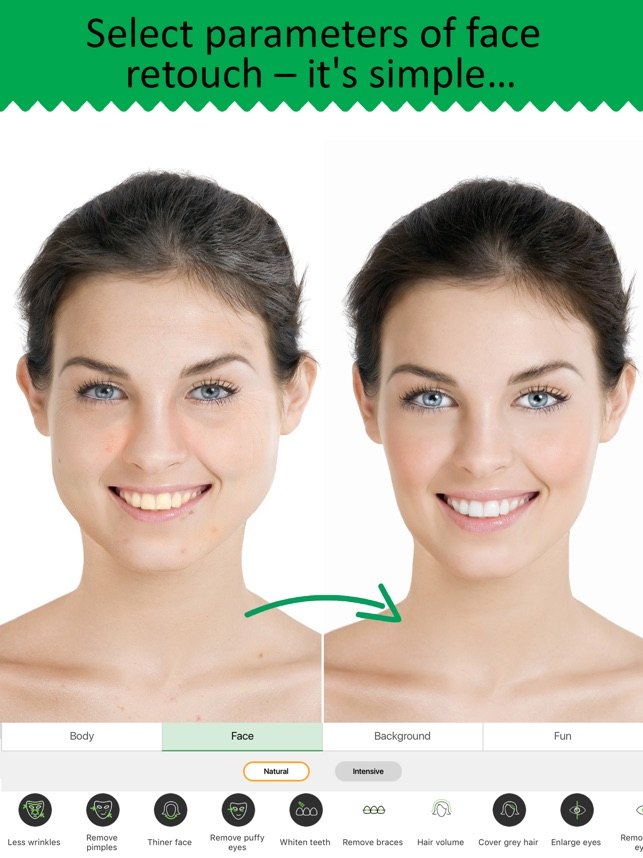 retouch me body face editor on the app store