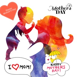 Mother's Day Stickers Photo Studio