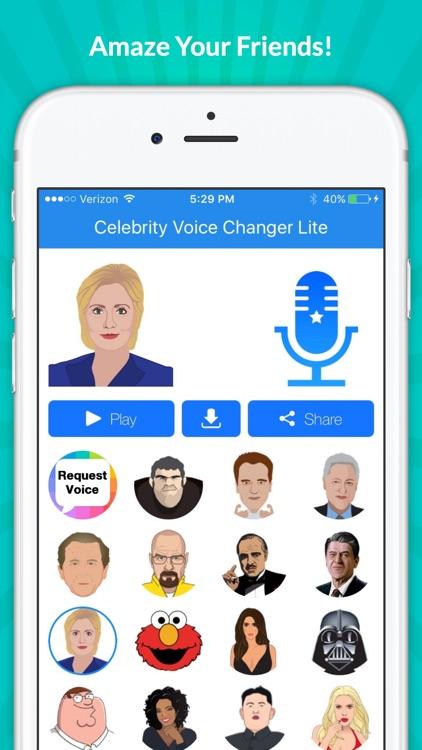 Celebrity Voice Changer -Spoof screenshot-4
