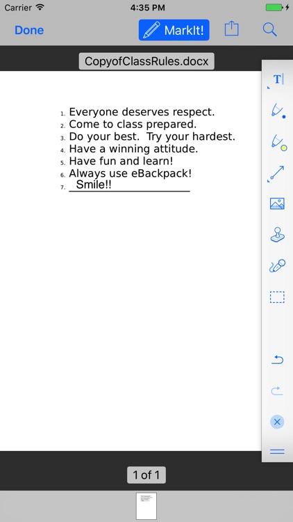 eBackpackLM screenshot-4