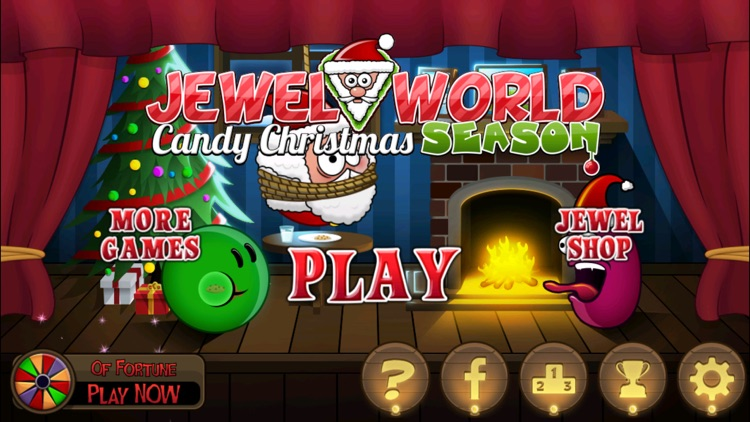 Jewel World Candy Christmas